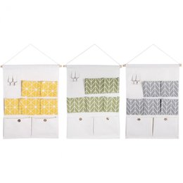 Door Pouch Coupons   7 Pockets Cotton Linen Wall Hanging Storage Bags Door  Pouch Bedroom Wall