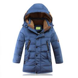 große jungs daunenjacke Rabatt -30 die Winterjacken der Kinder für Kinder Ducked Padded Kinder Kleidung Big Boys Warm Winter Daunenmantel Verdickung Oberbekleidung