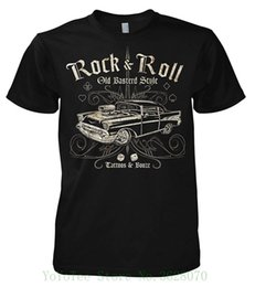 Ropa de estilo antiguo online-Rock Style Old Basterd Style 701337 Camiseta Hip Hop Novedad Camisetas Hombre Marca Ropa