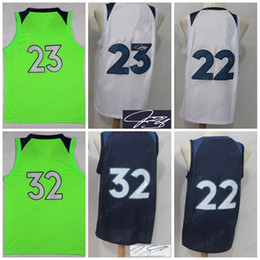 Wholesale Aw White - 2018 New MIN city Basketball Jersey Men Women Youth ,Signature Retro kids, 32 KT 23 JB 22 AW ,USA Dream Team all star