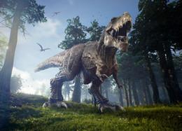 vente en gros dinosaure jungle photographie décorsPhoto Background Jurassic Park World thème fête d'anniversaire bébé douche ? partir de fabricateur