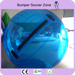 Wholesale Zorb Water Balls - 2018 New 2m Inflatable Water Walking Ball 0.8mm PVC Inflatable Walking Ball Water Balloon Zorb Ball Inflatable Human Hamster Plastic
