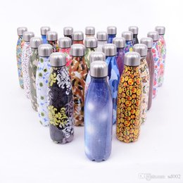 Wholesale blue hot water bottle - Unicorn Stainless Steel Water Bottles Unicornio Designer Emoji Cup With Lid Cola Shaped Non Slip Office Vacuum Flask For Office 18 5zx ZZ