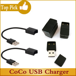 COCO SMOKING Cargador USB E Cigarette Conexión magnética Cable largo Cargador USB Cargador inalámbrico para Coco juul Portátiles Fumadores Vape Pen Pods desde fabricantes