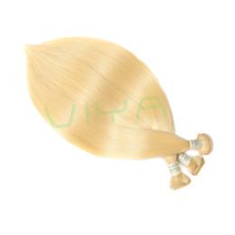 eyed de 16 polegadas Desconto 613 mel loiro cor de seda reta virgem do cabelo humano viya mink brasileira virgem cabelo loiro extensões de cabelo humano cor pura tingido