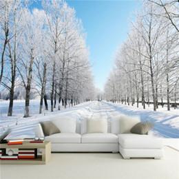 Discount 3d Natural Wallpaper For Bedroom