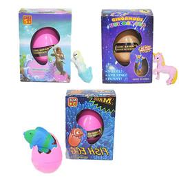 Ева тест прошел единорог русалка и тропические рыбы пасхальное яйцо новизна пузырь детские игрушки небольшой подарок с розничной упаковке от