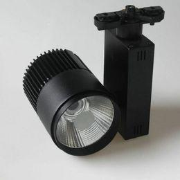 40 W 2 linha COB LEVOU Trilha de Luz Holofotes Lâmpada Leds Tracking Luminária Luzes Do Ponto Lâmpada para Loja Loja de Exposição 10 pcs de