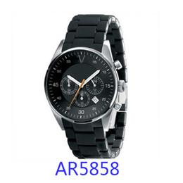 Wholesale Analog Timers - Fashion brand watch ar5858 ar5859 ar5889 ar5890 ar5891 ar5905 ar5906 ar5919 ar5920 ar 5921 ar5922 Chronograph Calendar timer original box
