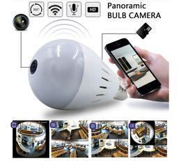 Caméra de sécurité IP sans fil 960P Wifi avec ampoule IP et objectif Fisheye 360 Panoramique à deux voies pour PC / Téléphone / iPad ? partir de fabricateur