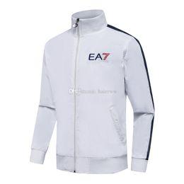 Wholesale Zipper Turtleneck Sweatshirt - Men's Sweatshirts Sportswear Man Polo Jacket Jogging Jogger Sets Turtleneck Sports Tracksuits