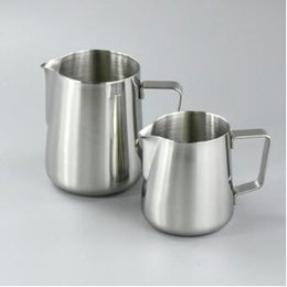 Wholesale Flowers Maker - Stainless Steel Pull Flower Cup For Frothing Pitcher Coffee Maker 150-600ml Pitcher Cup Cappuccino Cooking Tools Milk Frothers CCA8799 50pcs