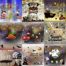 Хэллоуин наклейки плакаты наклейки на стены для детей номера домашнего декора наклейки на ноутбук скейтборд камера наклейки на стены автомобиля наклейки от