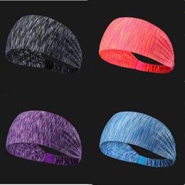 2019 headbags de exercícios grossistas 13 cores elástico esporte headband da aptidão yoga sweatband para mulheres dos homens adulto ginásio ao ar livre tênis de corrida de basquete faixas de cabelo largo