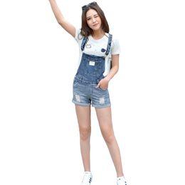 Wholesale Jeans Strap Shorts - New Brand 2017 Summer Frazzle Denim Shorts Women Slim strap Short Jeans Pocket Fashion College Wind Women Shorts S-XXL