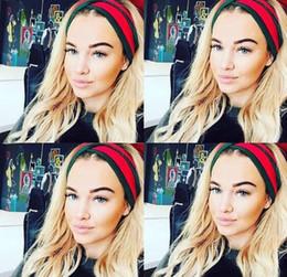 2019 abiti di stile bohemien designer 2018Popular Designer Lace Headband Bohemian Style Headwrap Accessori per capelli Boho fasce Fascinator Hat Head Dress Copricapo Copricapo abiti di stile bohemien designer economici
