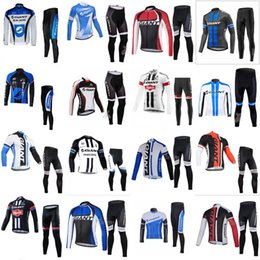 GIANT autumn Men s team Cycling long Sleeves jersey shirts pants sets  Bicycle Cycling Clothing Mountain Bike Wear Outdoor Sportswear 1111L giant  red jersey ... 3e46c0531