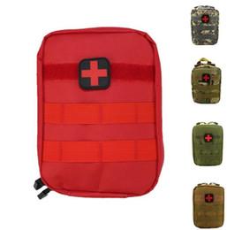 revestimiento de poliéster al por mayor Rebajas Bolsa de primeros auxilios Molle Medical EMT Cover Programa de emergencia exterior IFAK Paquete Bolsa de viaje Utility Waist Pack Multifunctional EDC Molle Tool