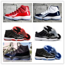 "Wholesale orange thread - 2018 Number ""45"" 23 11 Prom Night Bred BARONS Space Jam Basketball Shoes Men Women win like 82 96 Sport Shoes Athletic Trainers With Box"