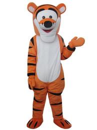 Traje de mascote Tigger Cartoon mascote traje frete grátis de