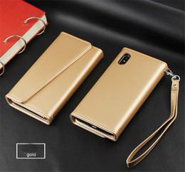 Кожаный чехол онлайн-Новые горячие премиум кожаный бумажник чехлы для iPhone X 8 7 6 Plus съемный магнитный Snap-on с слот для карты флип чехол