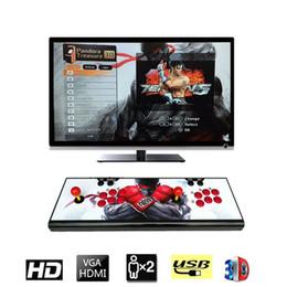2019 joystick pour ordinateur portable 1080P 2200 en 1 console de jeux d'arcade de jeux rétro 3D HD 1920x1080 Full HD 2 machine de manette de jeu d'arcade pour PC / ordinateur portable TV joystick pour ordinateur portable pas cher