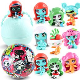 Wholesale Funny Baby Girl - 10 styles Monster Pet LOL Random Surprise Dolls Toy LQL Eggs Doll Toy Action Figure Baby Models Funny Toy Girl Kids Gifts Facelift Dolls Egg