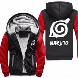 Hoodie Anime Survêtement Naruto Vente Promotion Veste x1wpqn4X