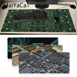 Fondos de pantalla de computadora online-MaiYaCa Your Own Mats Circuits fondos de escritorio Ordenador portátil Mousepad Teclado Mat Computer Tablet Gamer Gaming Mouse Pad