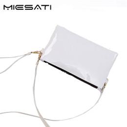 Wholesale Wristlet Purse Designer - MIESATI 2017 designer Fashion Shoulder Bags PU Messenger Crossbody Wallet Female Zipper Clutch Coin Purse Ladies Wristlet
