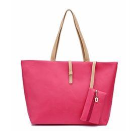 Wholesale top quality leather wholesale handbags - High Quality Women Shoulder Bag Soft PU Leather Top Handle Bags Ladies Tassel Handbag