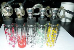 Wholesale Mini K - mini glass water pipe glass bong mix designs mix color glass water pipe international brand D&K mix color design random send