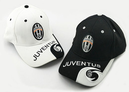 Wholesale hat running - 2017 hot teams can choose for Juventus soccer white Black DYBALA football badge caps Adjustable Cotton Italy Caps hats