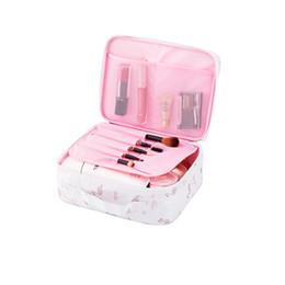 Косметический бизнес онлайн-Fashion Beauty Lady Business  Bags Waterproof Oxford Cosmetic Tools Box Men Travel Wash Organizers Bags