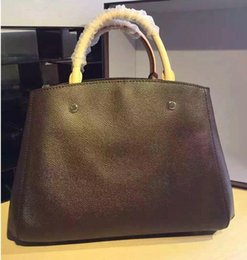 Wholesale Brand New Handbag Price - 2018 wholesale price sell new style fashion women brand MONTAIGNE MM tote handbag shoulder women movement outdoor bag