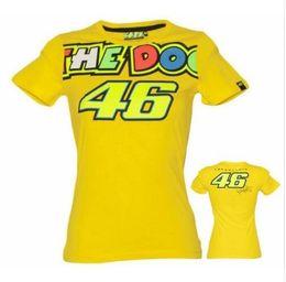 Wholesale Uomo Shirt Xl - VALENTINO ROSSI VR46 YELLOW T-SHIRT 2018 MOTOGP M1 NUOVO THE DOCTOR BIANCHE DA UOMO X