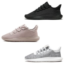 Wholesale 3d Designers Cheap - 2018 3D Tubular Shadow Men Women Running Shoes Fashion Discount Cheap 350 Black White grey pink designer Training sports casual Shoes