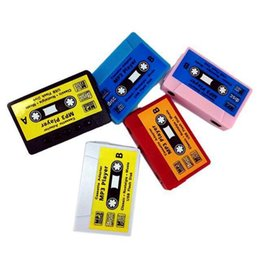 Wholesale Red Tape Sale - Wholesale- Hot Sale High quality mini Tape MP3 Player support Micro SD(TF) card 5 colors DHL Ship, Cheapest on DHgate