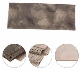 50 pcs 150 * 40 cm Tactical Camuflagem Malha Cachecol Ao Ar Livre Respirável Headband Malha Cachecol Ao Ar Livre Selva Silencioso Camping Caminhadas Homens Cachecol de