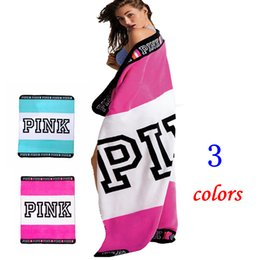 Wholesale Soft Carpets - PINK Blanket Flannel Blankets Soft Coral Beach Towel Blankets Air Conditioning Rugs Comfortable Carpet Throw Blanket 130*160cm HHA2