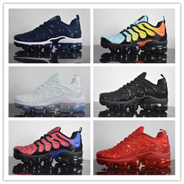 Wholesale Plus Size Shoes Flats - Wholesale New Runner plus black white men running shoes high quality training sports Fashion sneakers with box size 36-45