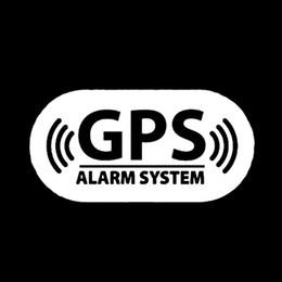 système d'alarme moto gps Promotion GPS Système d'Autocollant De Voiture Personnalité De La Mode Graphiques Frais Moto Moto VUS Autocollant De Voiture Fenêtre Vinyle Stickers