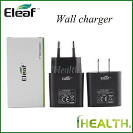 saco de vapor de dupla plataforma Desconto 100% Eleaf adaptador de carregador de parede para istick 20 w 30 w 40 w 50 w 100 w istick mini 10 w bateria