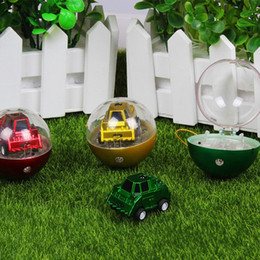 Wholesale Mini Value - Mini Two Channel Telecontrol Car Football Shape Q Version Funny Circular Infrared Cars Flexibly Model Toy 23 5yh W
