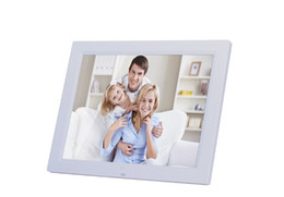 Wholesale digital movie picture frames - 14'' Digital Photo Frames LED LCD Digital Movies MP3 Alarm Clock Photo Picture Frame with Remote Controller