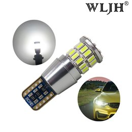 Wholesale Ford Focus S - WLJH T10 W5W LED Auto Canbus Lamp Parking Light For Ford Focus 2 Fiesta Mondeo 4 3 Transit Fusion Ranger Mustang KA S-max