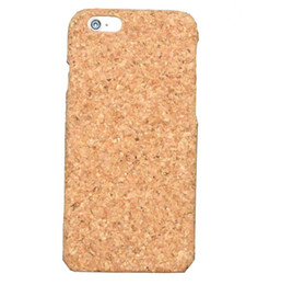 Wholesale wood cork case - Fashion Retro Cork Wood Phone Cases For Iphone X 10 7 8 Plus 6 6s Natural Eco-friendly Wooden Bamboo Hard Cover Wood Case