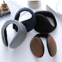Cache-oreilles hiver couleur pure mode oreille couvre-oreille couvre-oreille épaissie couverture étudiants couverture chaude ? partir de fabricateur