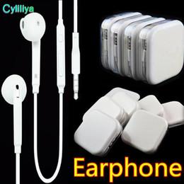 Universale In-Ear 105CM Auricolare Cuffie auricolari Earset Con microfono Controllo volume Auricolare per iphone 5 6 Samsung s6 s7 s8 telefono Android da earset iphone fornitori