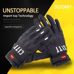 Wholesale Motorcycle Racing Accessories - Motorcycles Full Finger Gloves All Seasons Touchscreen Motorcycle Racing Gloves Accessories Parts Protective Gears Mitten